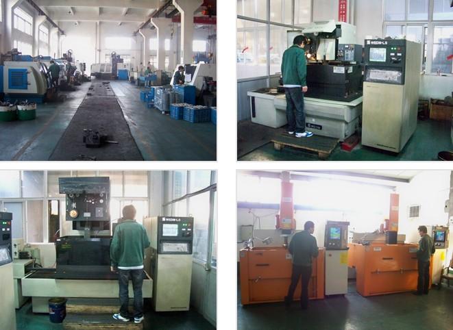 Precision CNC Machining Workshop Coner
