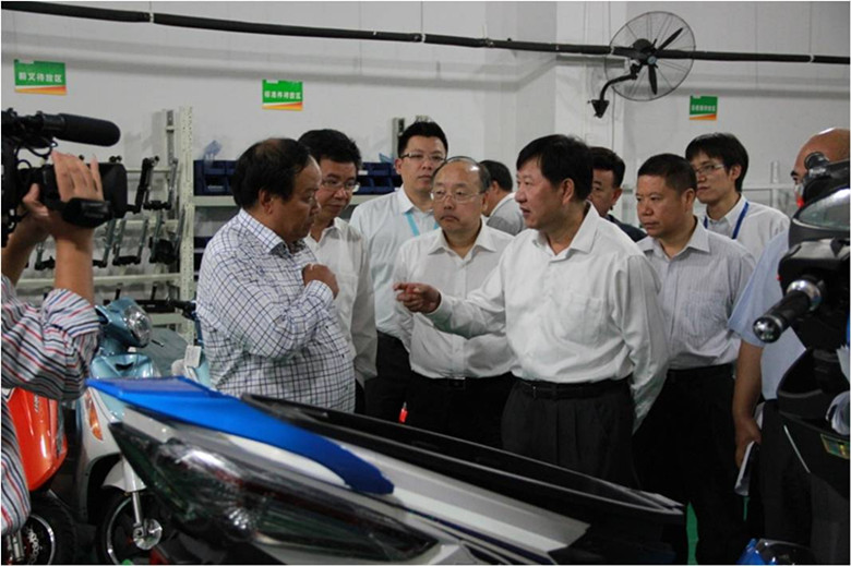 Mao Guanglie Vice Governor of Zhejiang Province Mao Guanglie Visited Luyuan