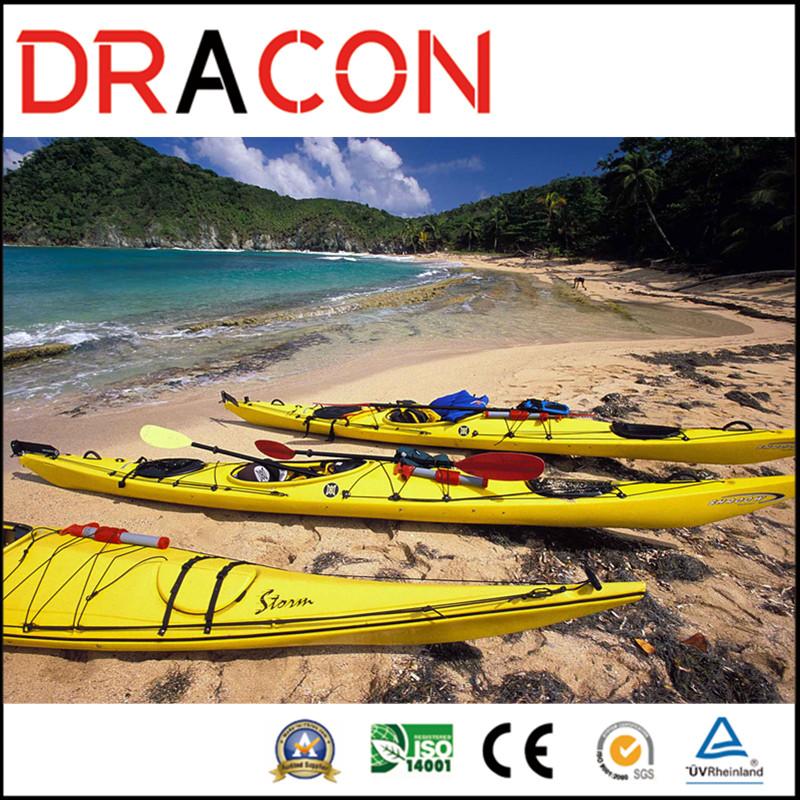 New Design Single Seat Canoe Boat Fishing Kayak (KB-21)