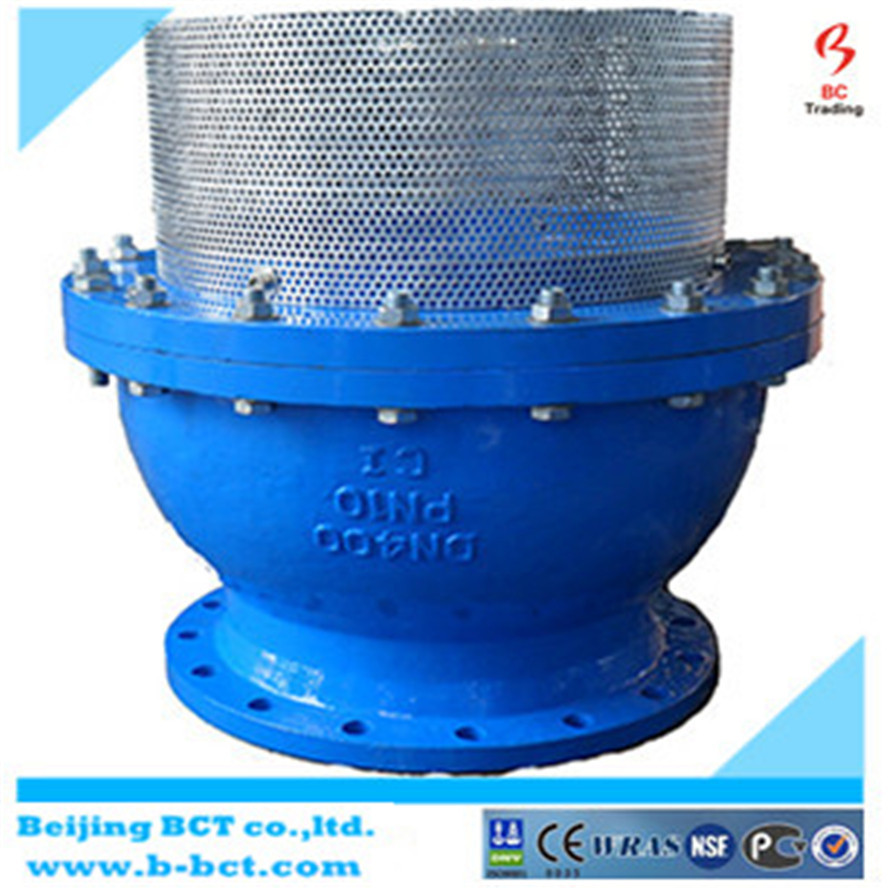 Big size Foot valve SS mesh