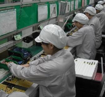 DIP production line