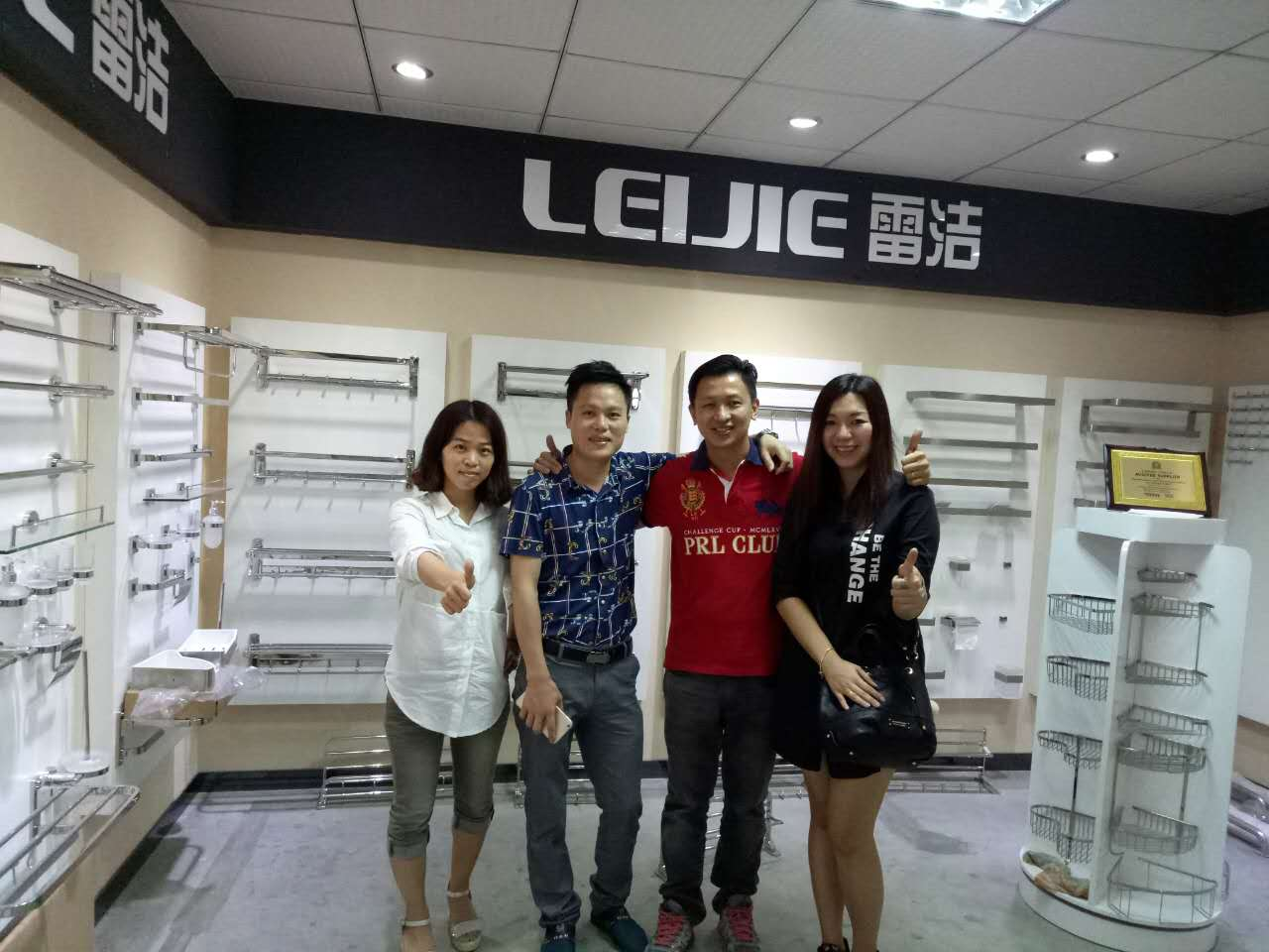 Malaysia Jimmy Visiting our factory