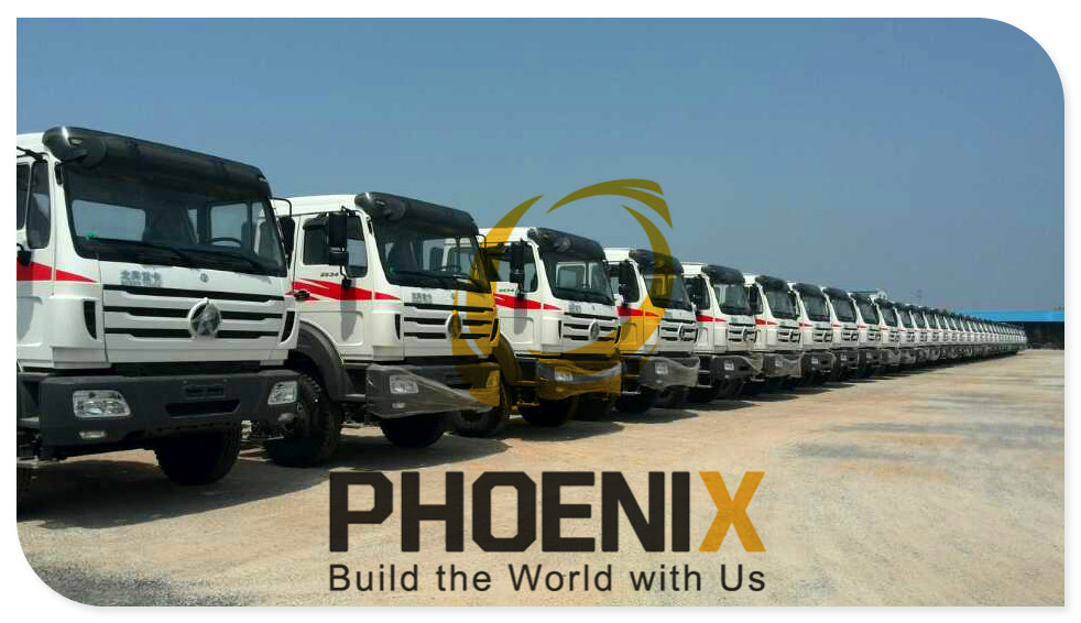 Our BEIBEN Truck Factory