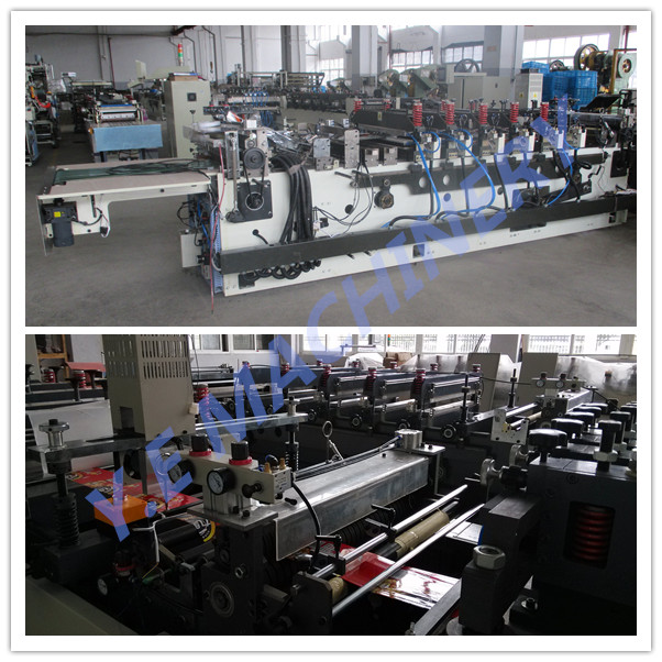 laminated pouch bag making machine