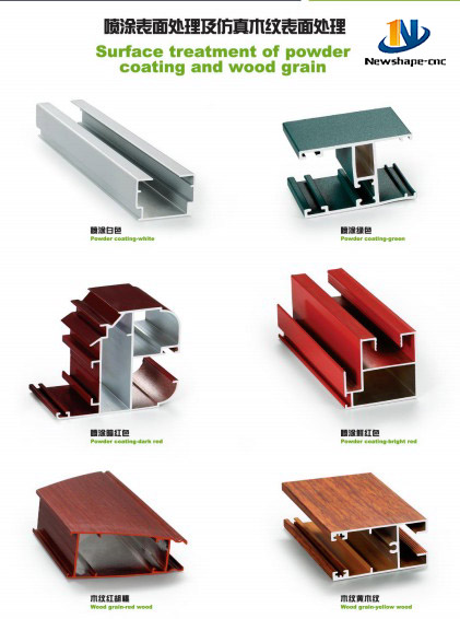 aluminum surface treatment profile