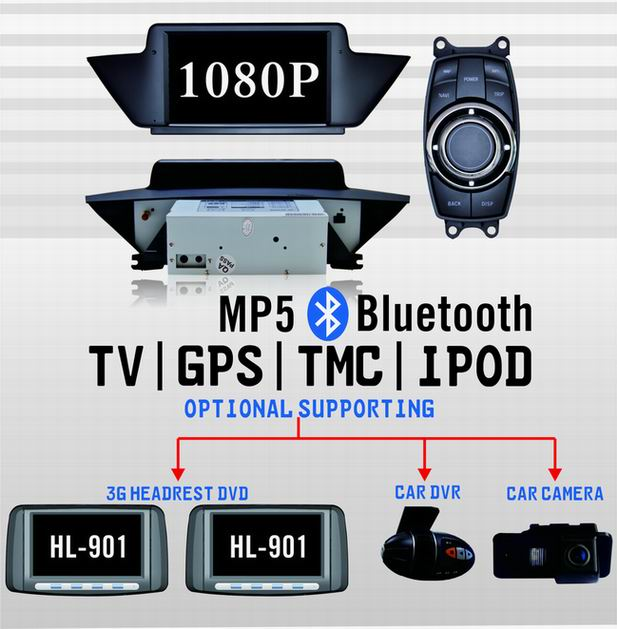New product with new function of BMW X1-E84 dvd