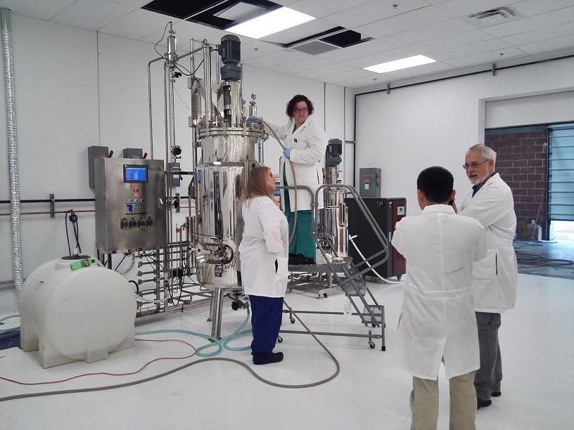 Acceptance success for 100L 500L stainless steel fermenter(US)