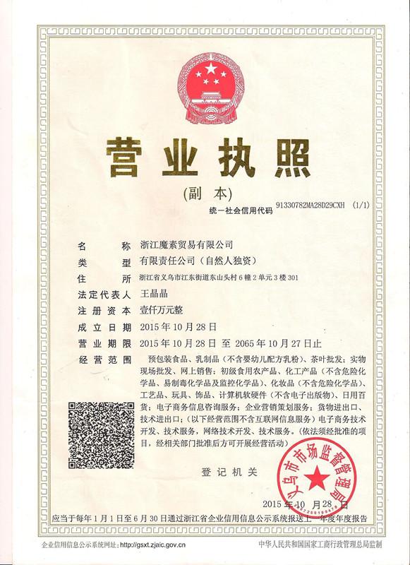 Zhejiang More Show Trade Co., Ltd