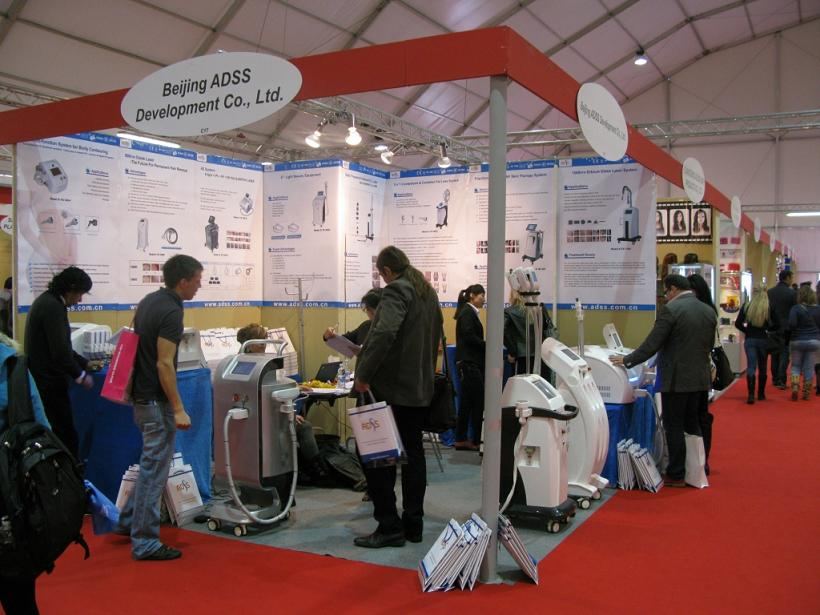 2013 March Cosmoprof exhibition in Italy