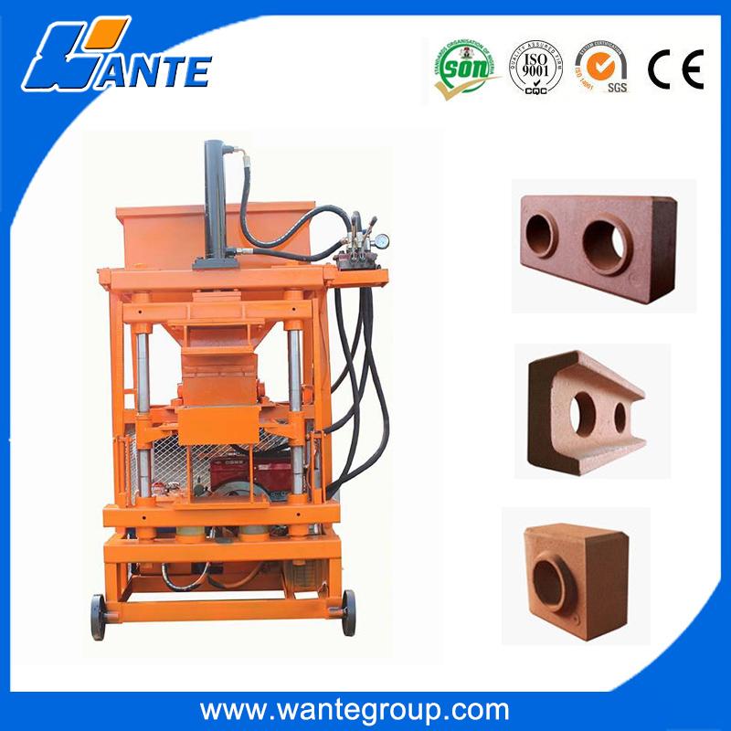 WT1-10 soil interlocking brick manufacturing machine