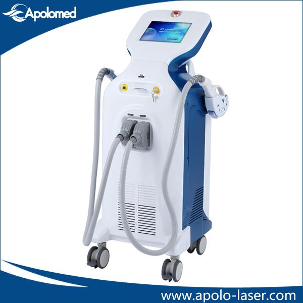 Non Portable Hair Removal and Skin Rejuvenation IPL Shr Machine