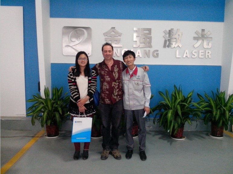 The buyer who have visited our factory