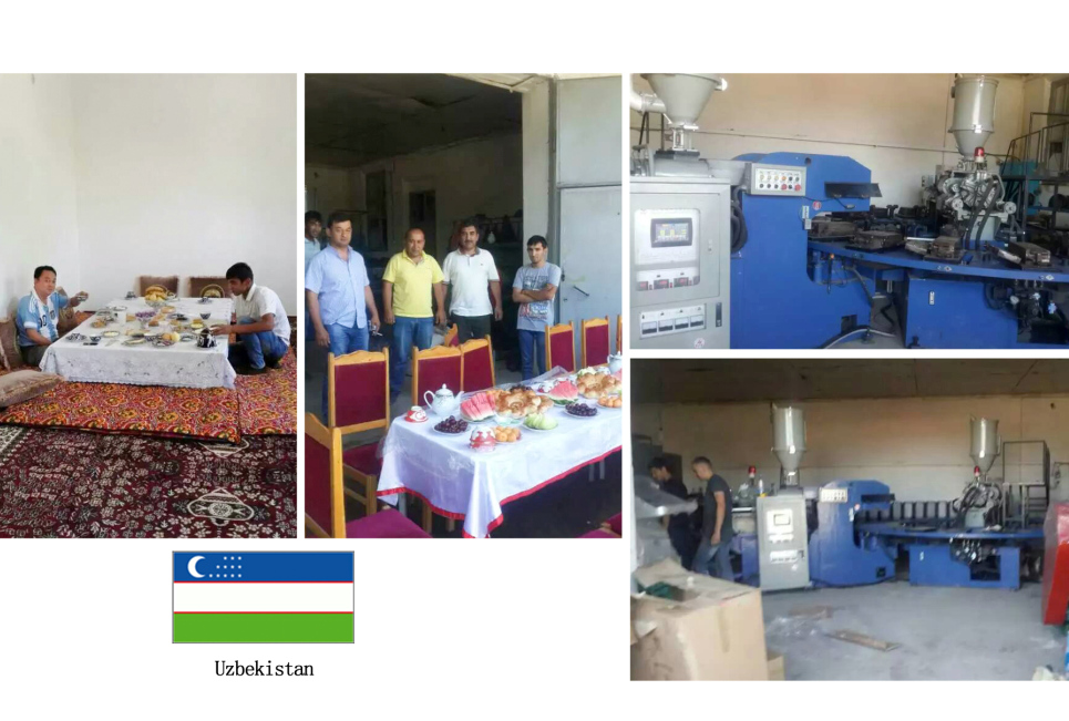 Engineer Install Machine In Uzbekistan