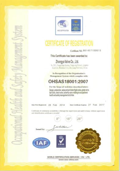 OSHAS14001