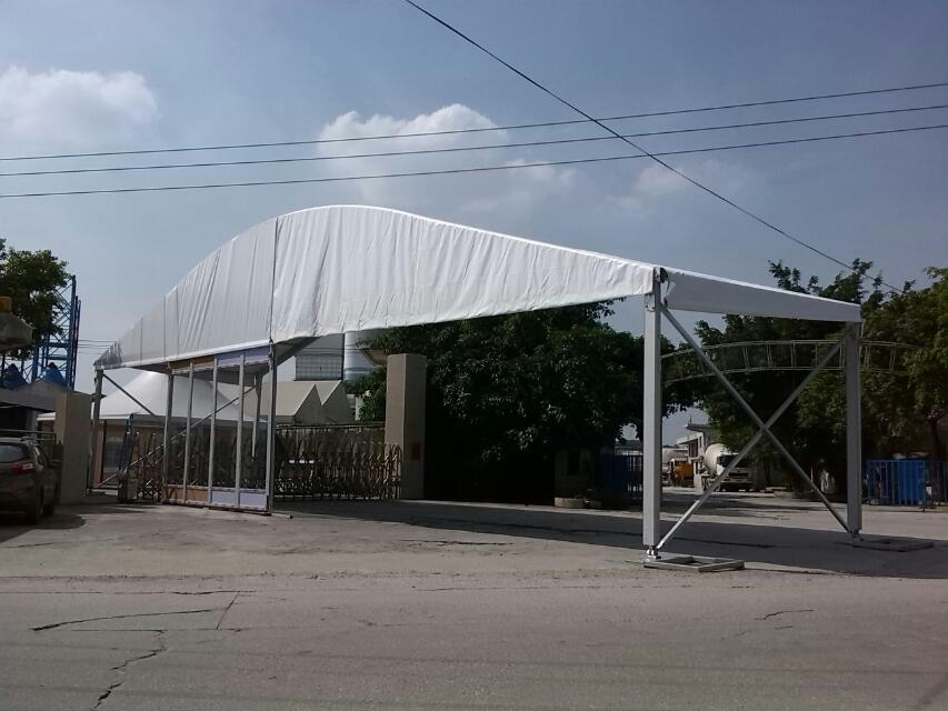 25m span big arch shape tent for Israel Client