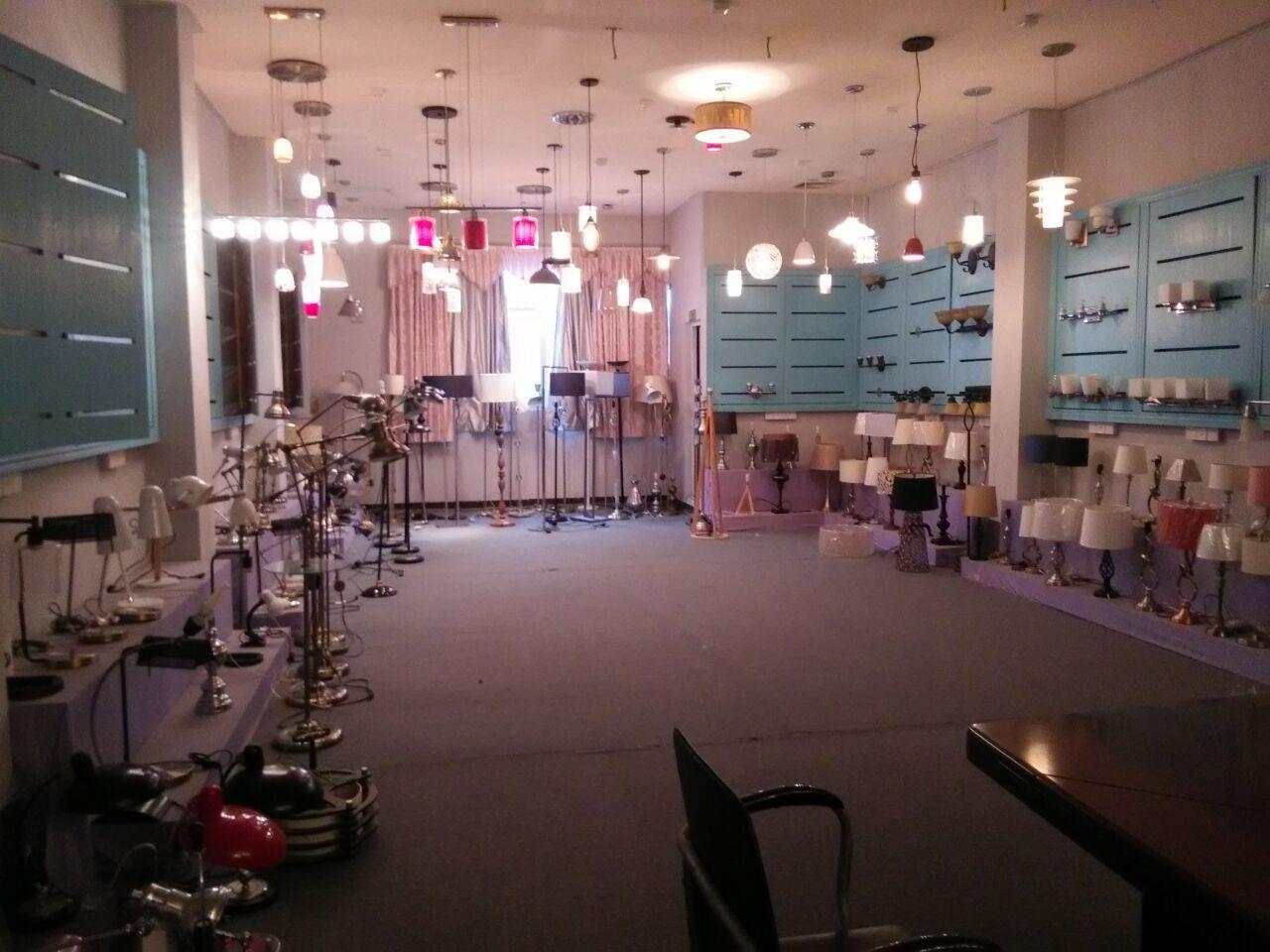 one corner of showroom
