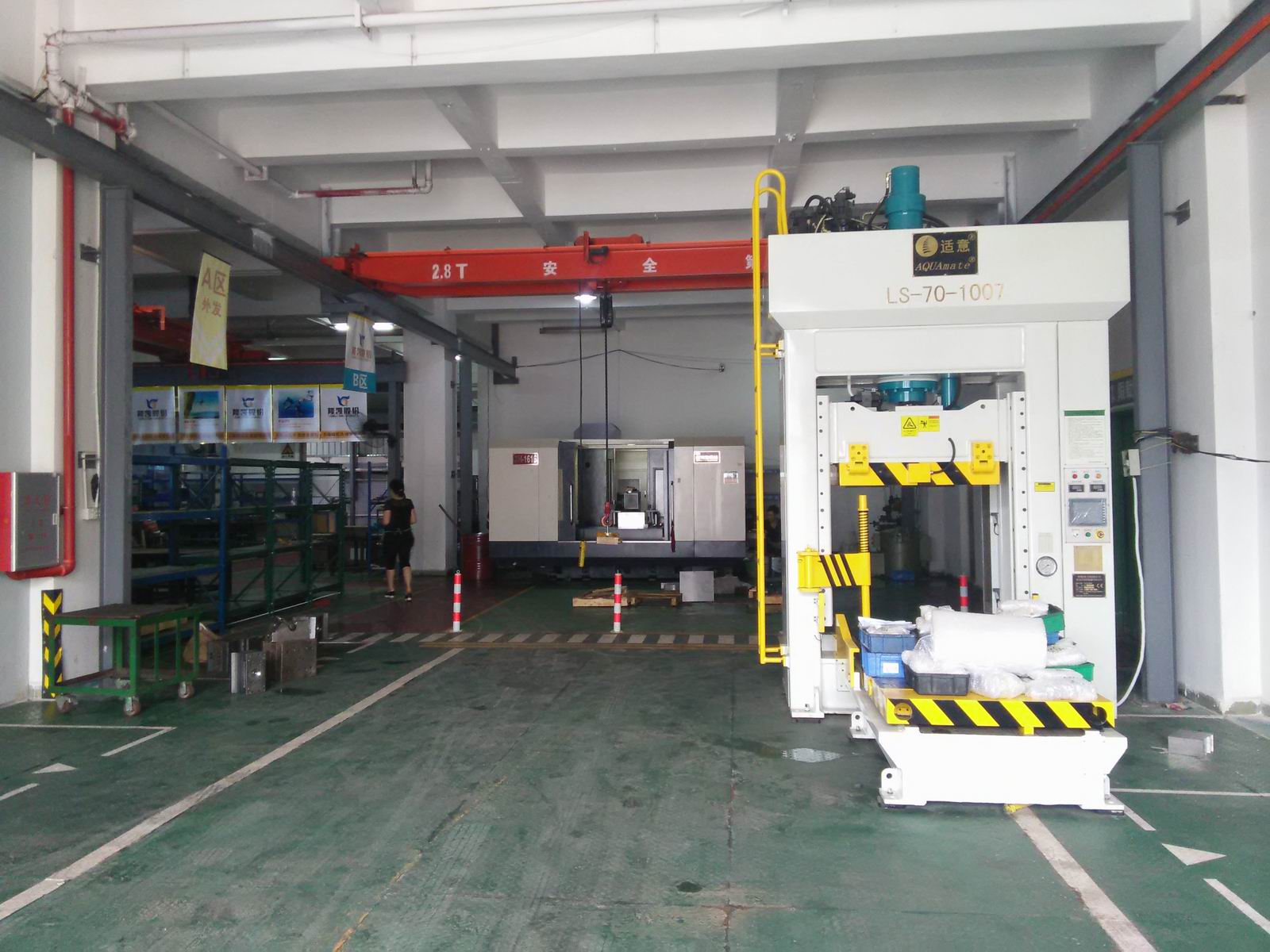 Mould Fitting Machine