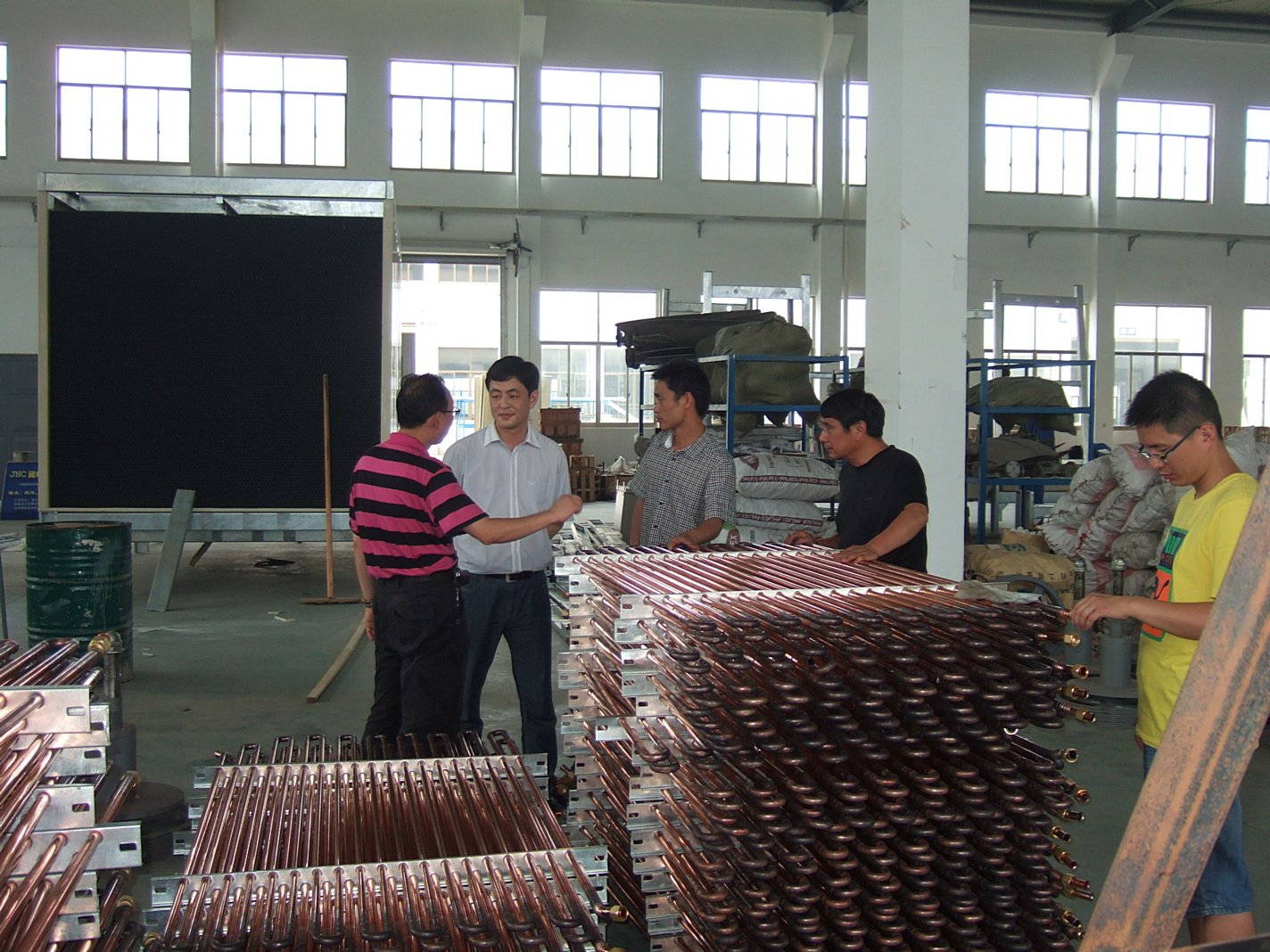 Copper Coiler