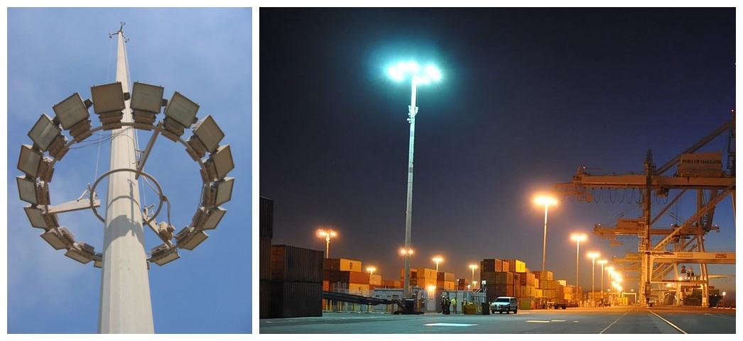 High mast lighting pole -DELIGHT
