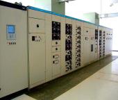 2*1250kva transformer power distribution room in sludge treatment plant