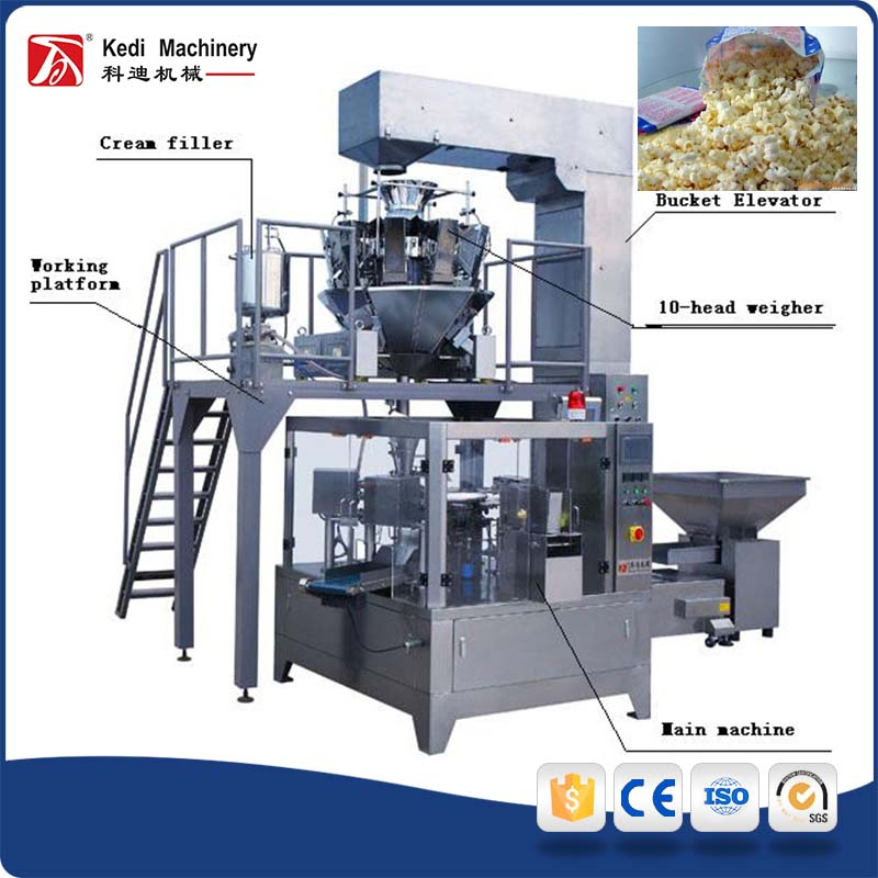 Microwave Popcorn Packing Machine