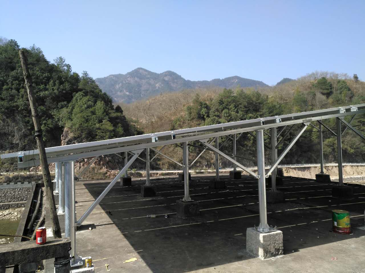 20KW Grid-Tie Roof Project