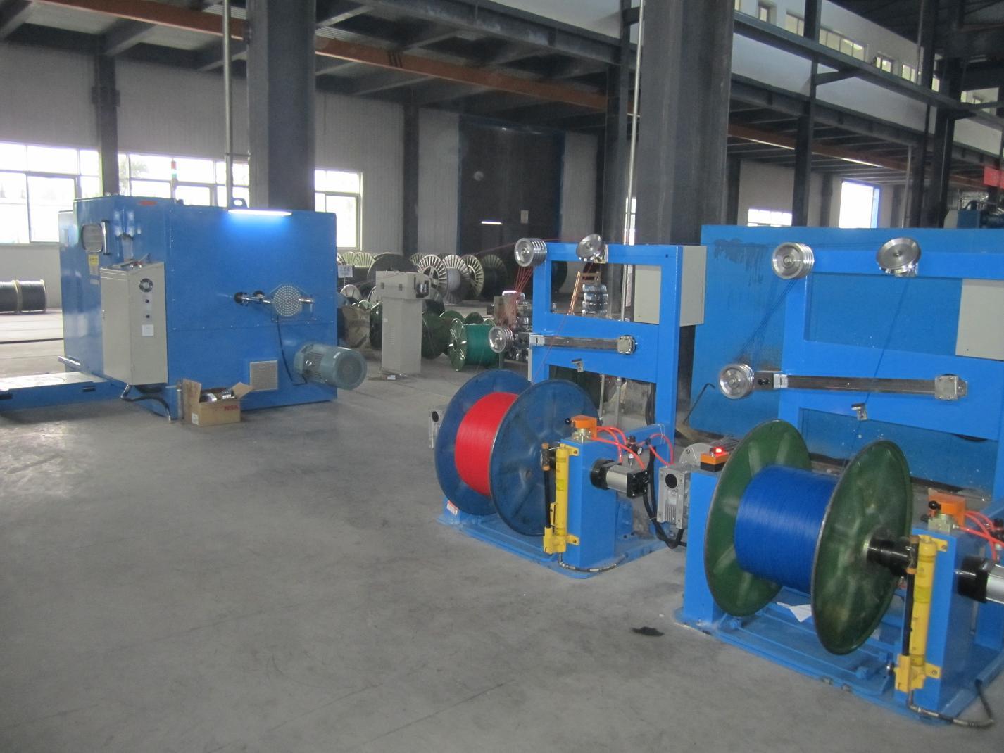 FC-800B copper wire double twist machine
