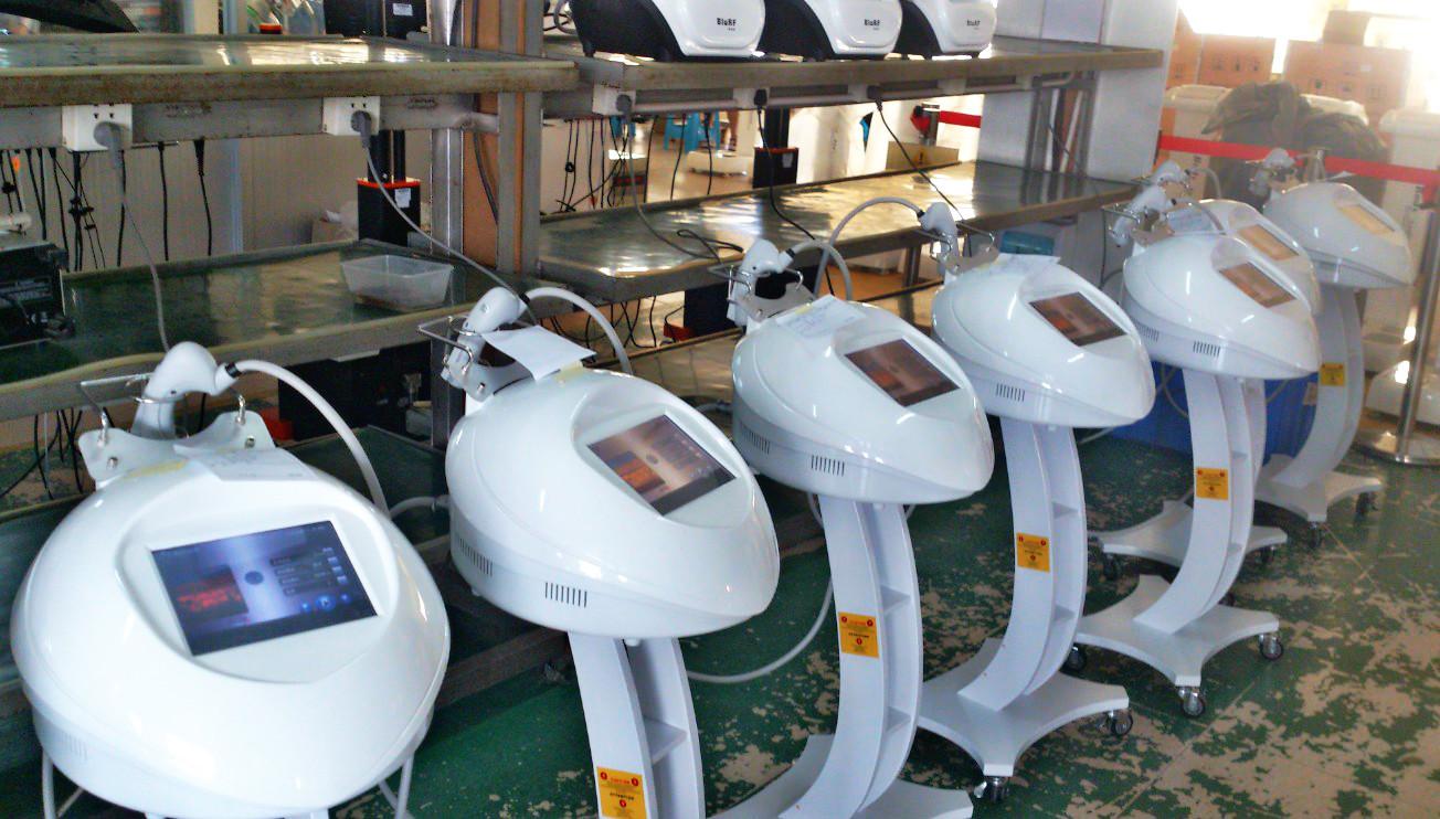 Portable Fractional RF Machine Production