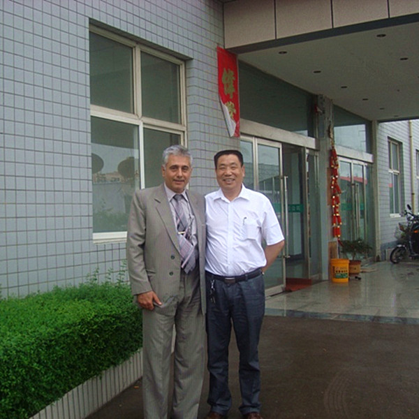 Iran customer visiting the factory