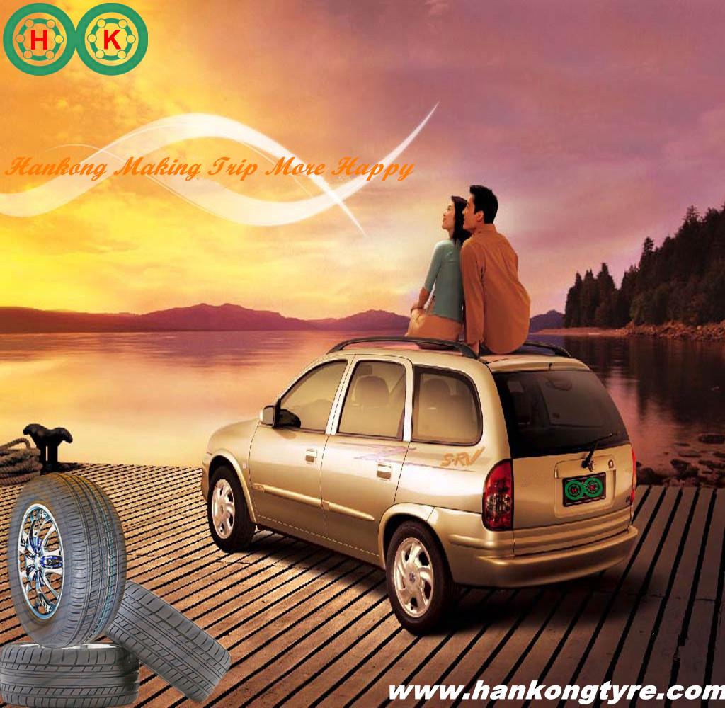 Hankong Tyres Bring you Happy Trip