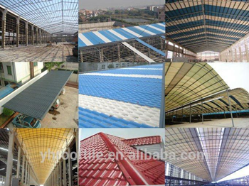Some PVC roofing Projects in China and Brazil