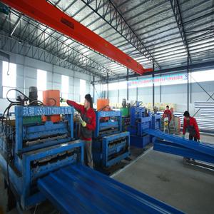 Tile pressing machine