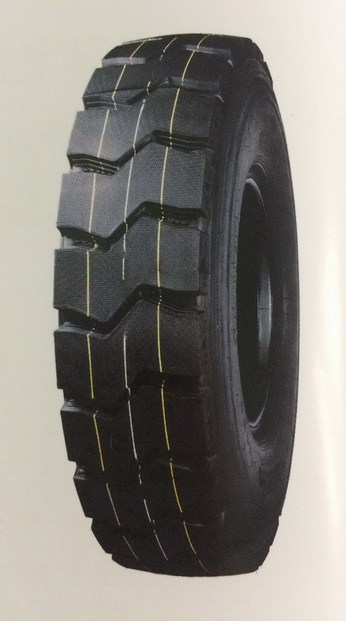 New Pattern TBR tyre for mining area