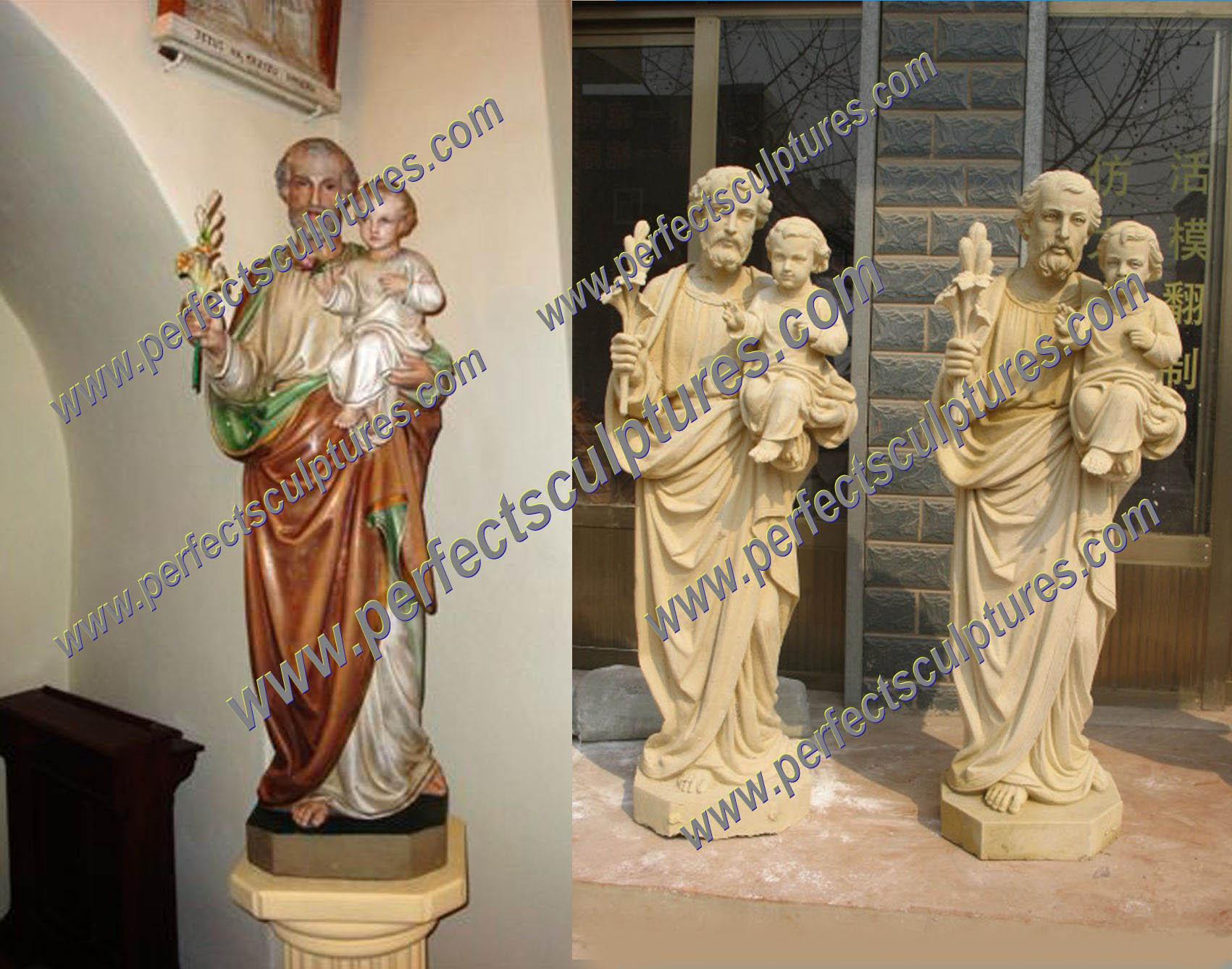 Custom Sandstone St.Francisco Statue in Poland