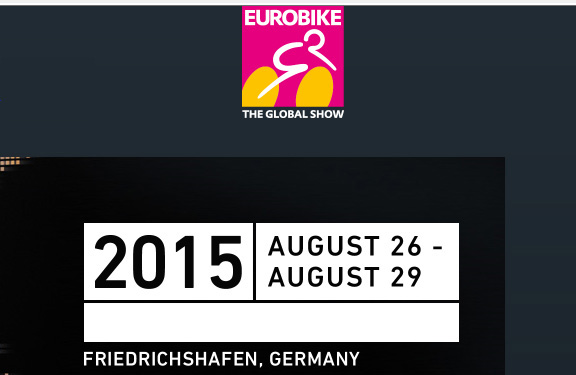 WE ARE GOING to ATTEND EUROBIKE SHOW 2015