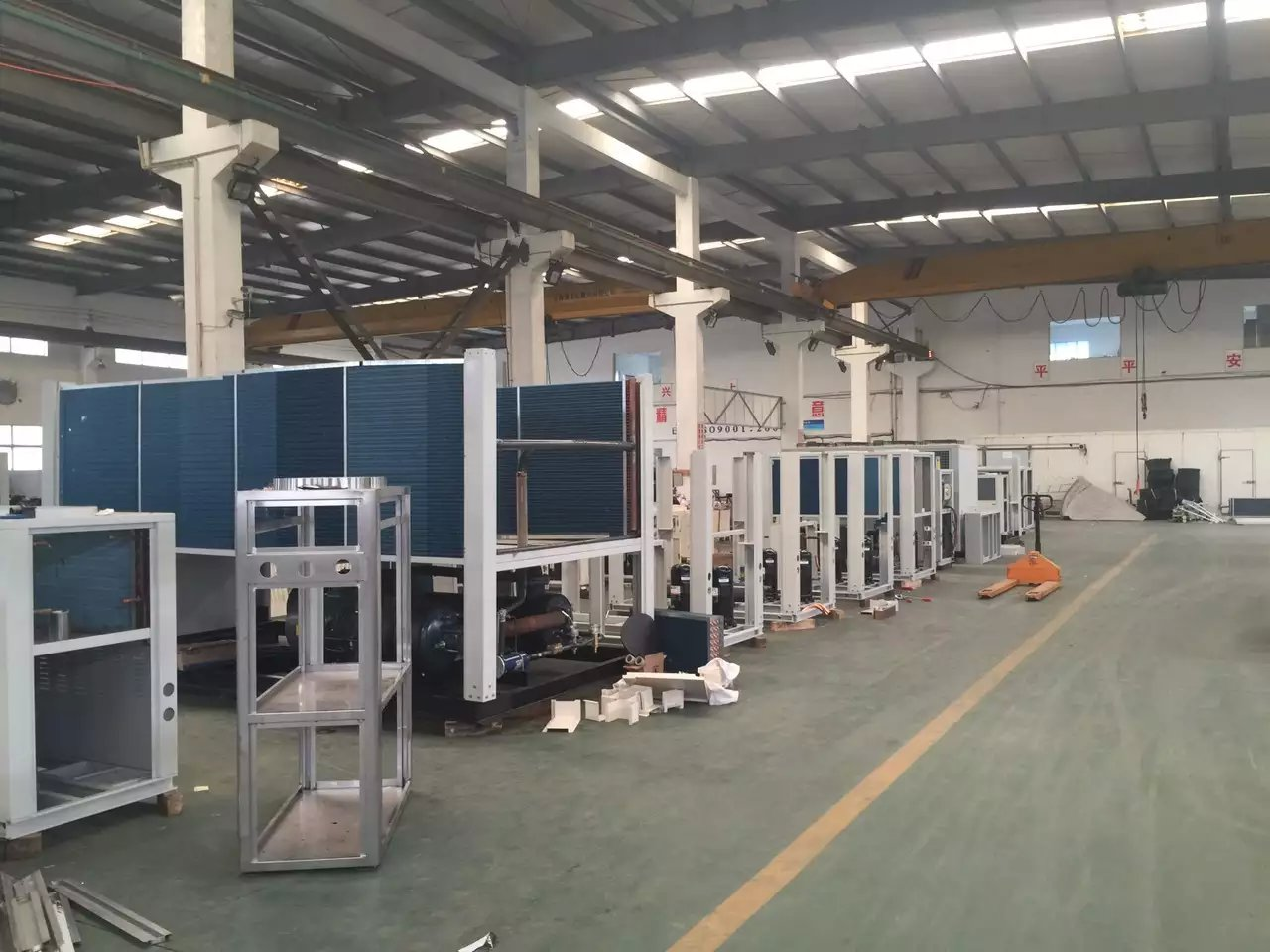 Air Cooled Chiller Prodcuting Line