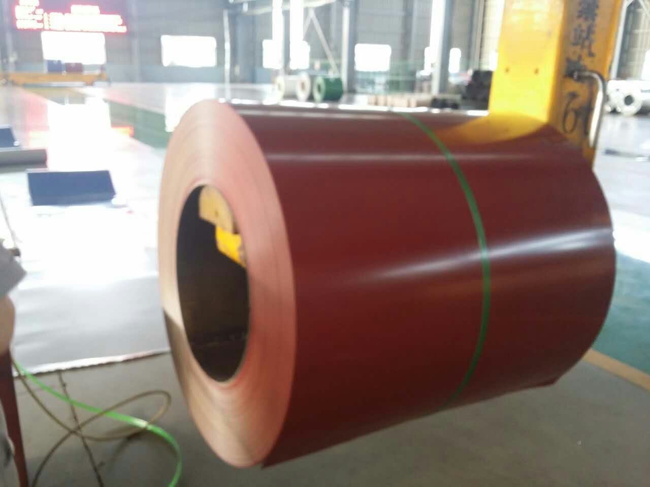 Color Coated Galvanized and Galvalume Steel Coil