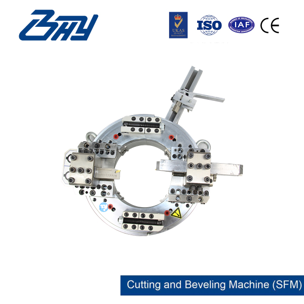 OD Mounted Pipe Cutting and Beveling Machine