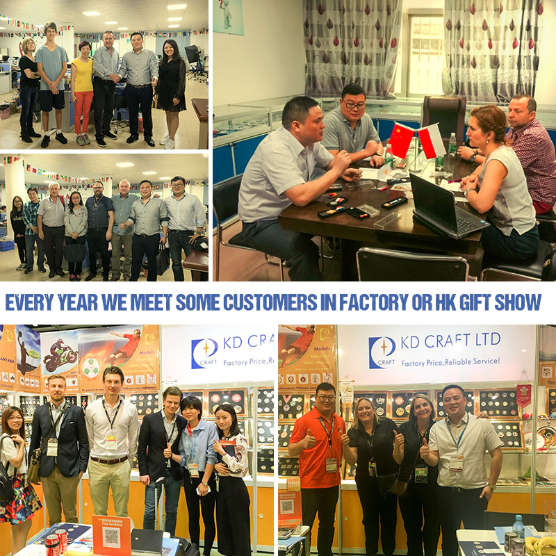 KD Craft Limited Meet Customer At HK Exhibition