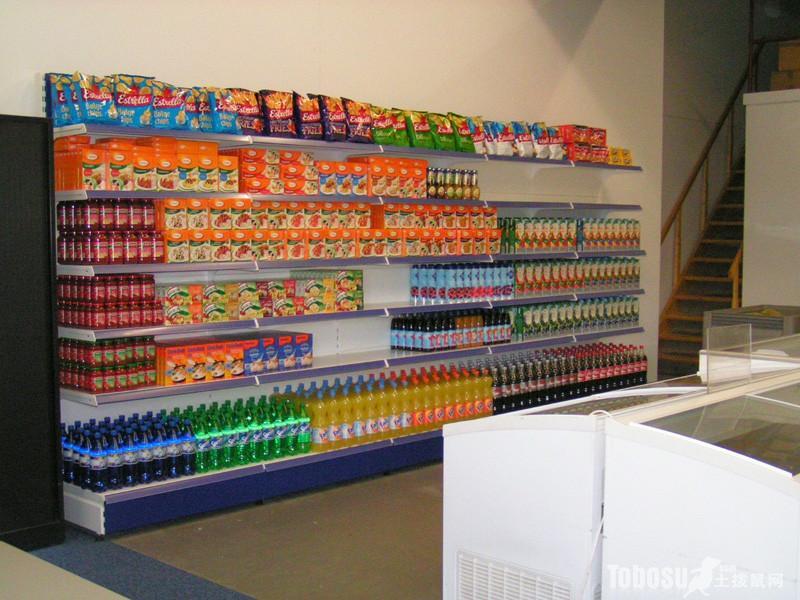 single side shelf for drinks case