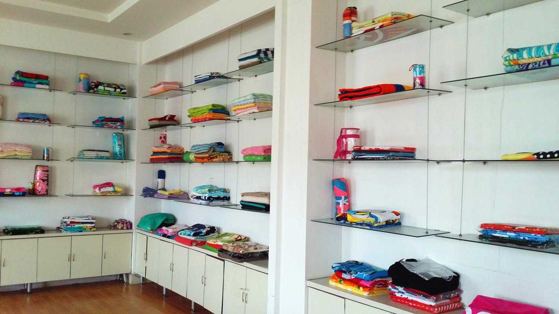 Towel Sampling room