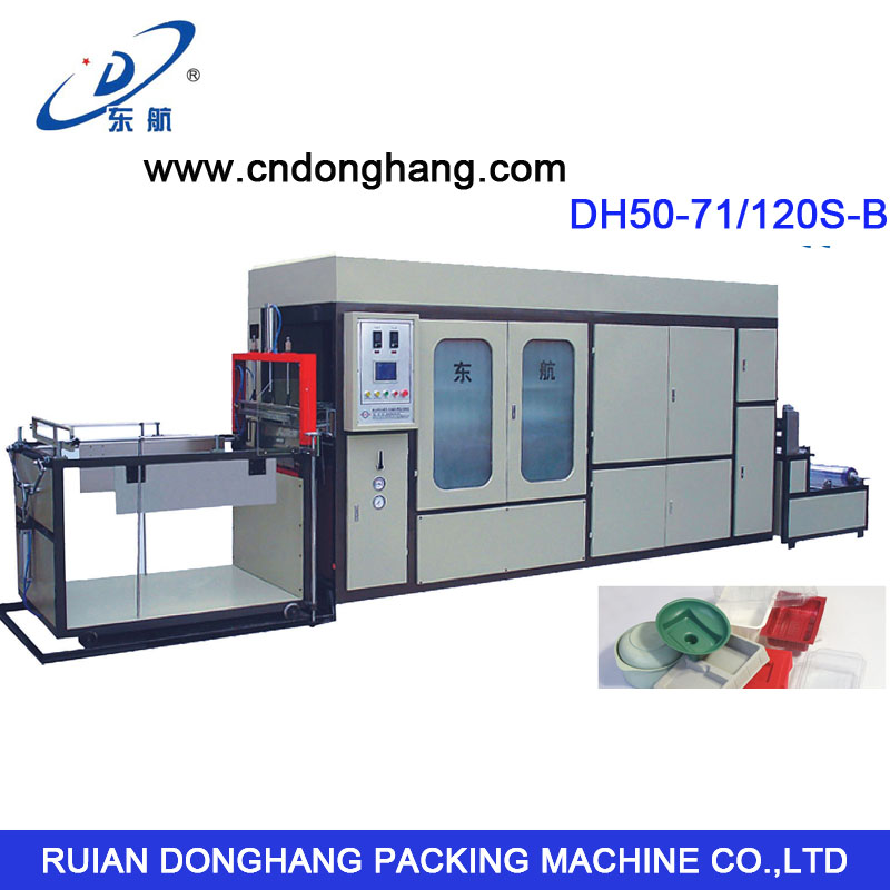 High-Speed Vacuum Forming Machine (DH50-71/120S-B) for Sheet PVC. PEt, PS
