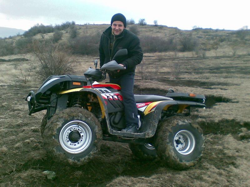 300CC 4x4 ATV in Romania
