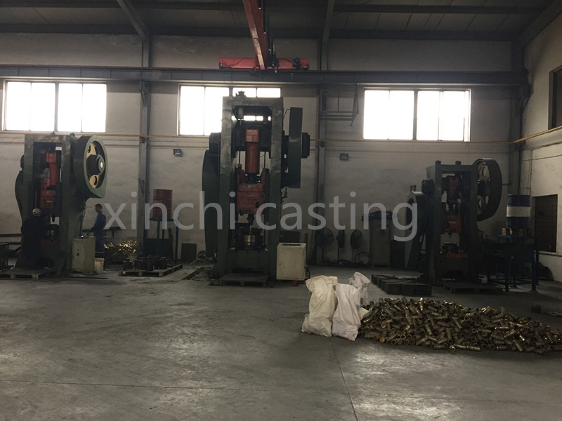 stamping machine for brass coupling