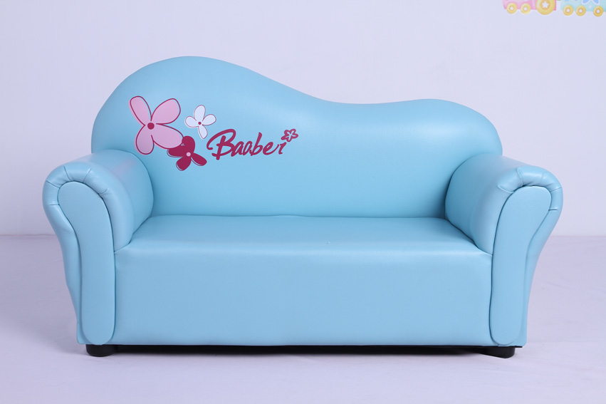 Curved back children sofa,available various colors(SXBB-07-03)