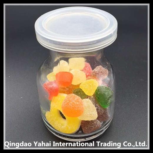 mini glass candy jar / pudding jar