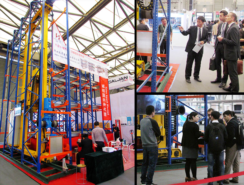 HEGERLS attended CeMAT ASIA 2015 in Shanghai