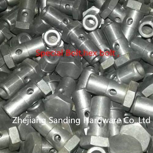 Oil tube fittings