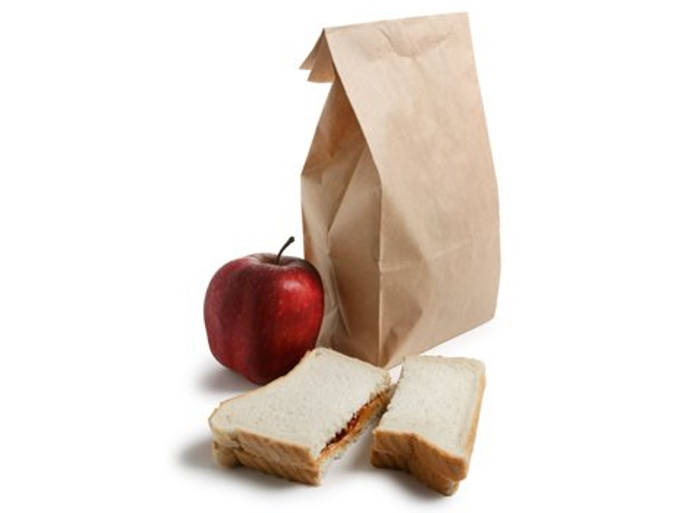 Kraft Paper Food Grade Bag lunch bag grocery bag