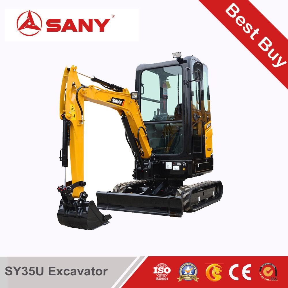 SANY SY35 3.5 tons mini excavator
